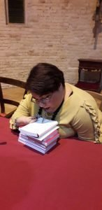 Presentazione libro di Samuela Baiocco a Fermo l'8 febbraio 2019
