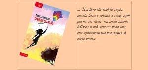 Locandina della presentazione libro di Samuela Baiocco a Fermo del 25 marzo 2019