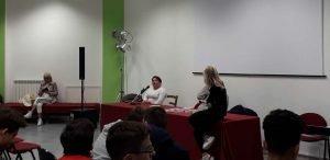 Presentazione libro di Samuela Baiocco a Fermo del 15 aprile 2019