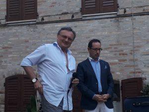 Presentazione del libro si Samuela Baiocco a Magliano di Tenna il 29 giugno 2019