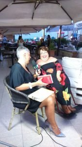 Samuela Baiocco intervistata da Daniela Rinaldi di SKY