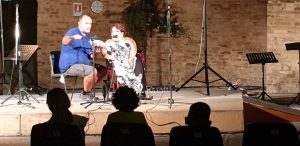 Presentazione del libro si Samuela Baiocco a Morrovalle il 10 agosto2019