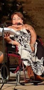 Presentazione del libro di Samuela Baiocco a Morrovalle il 10 agosto2019