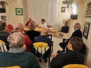 Presentazione del libro di Samuela Baiocco il 24 novembre 2019 a Fermo