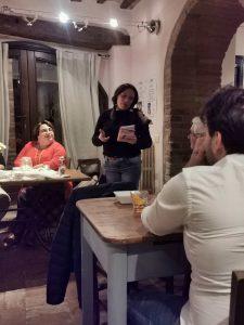 presentazione del libro di Samuela Baiocco a Morrovalle del 10 novembre 2019