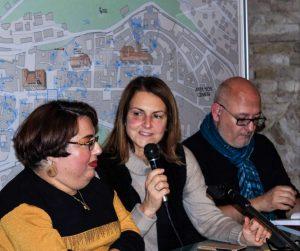 presentazione del libro di Samuela Baiocco a Osimo il 13 dicembre 2019