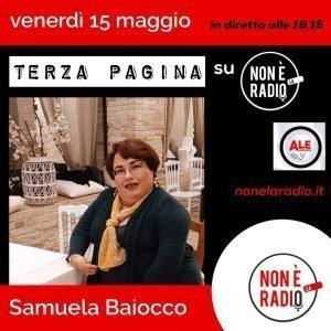 Intervista radiofonica di Samuela Baiocco venerdì 15 maggio 2020