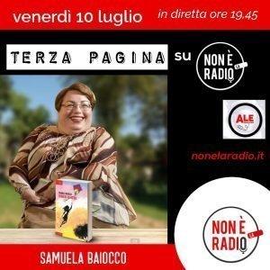 Intervista radiofonica di Samuela Baiocco 10 luglio 2020