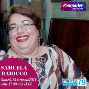 Intervista di Samuela Baiocco a VeraTV il 28 gennaio 2021